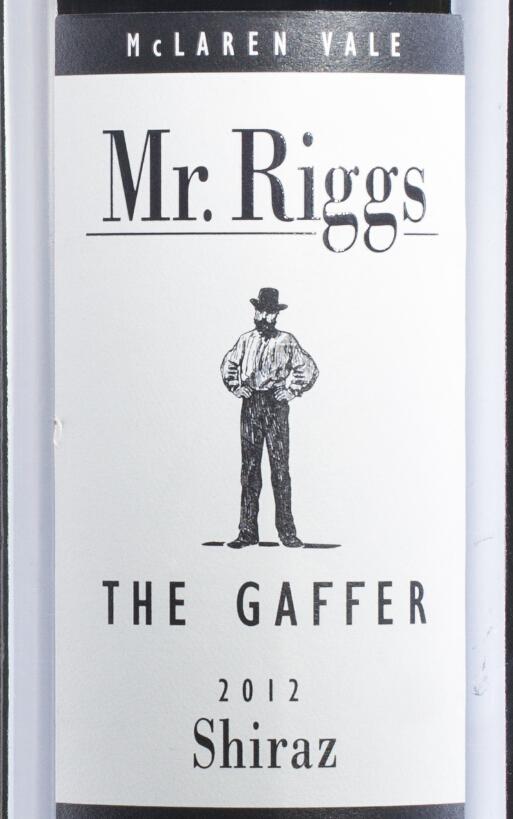 瑞格斯先生嘉菲设拉子干红Mr. Riggs The Gaffer Shiraz