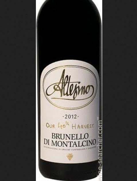 阿尔泰斯诺布鲁奈罗蒙塔希蒙托索利40周年干红Altesino Brunello di Montalcino Our 40th Harvest
