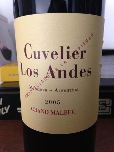 库维利大马尔贝克干红Cuvelier Los Andes Grand Malbec