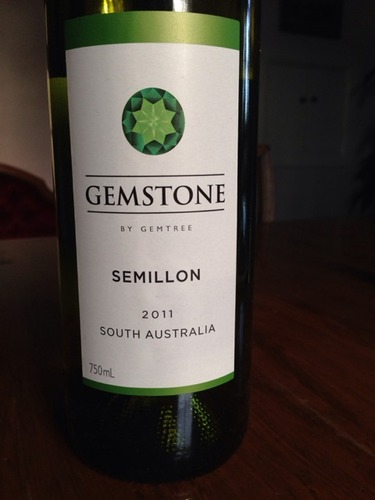 宝石树赛美容干白Gemstone By Gemtree Semillon