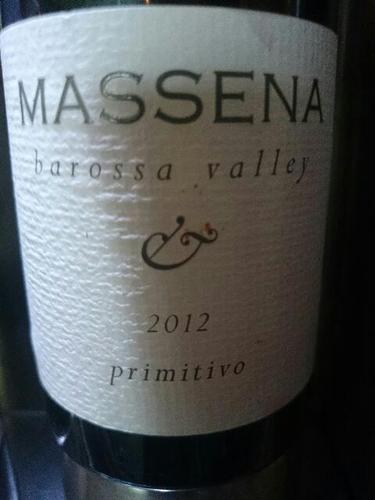 马塞纳普里米蒂沃干红Massena Primitivo
