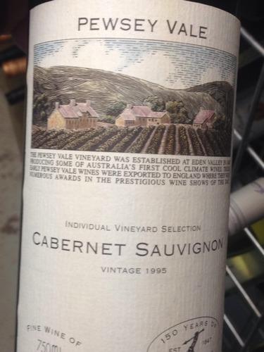 普西河谷葡萄园精选赤霞珠干红Pewsey Vale Individual Vineyard Selection Cabernet Sauvignon