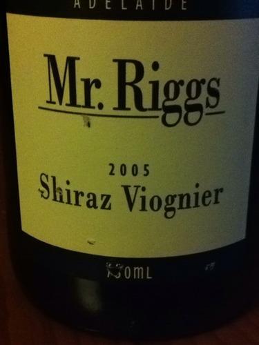 瑞格斯先生设拉子维欧涅干白Mr. Riggs Shiraz Viognier