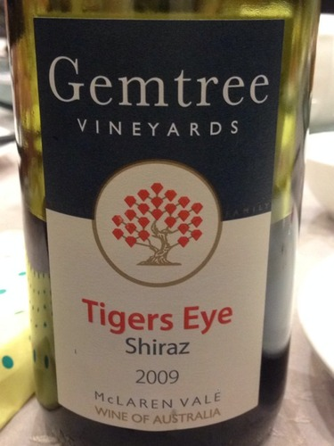 宝石树虎眼设拉子干红Gemtree Vineyards Tigers Eye Shiraz