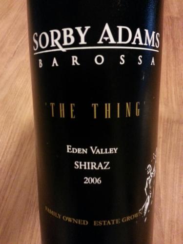 苏比亚当星恩设拉子干红Sorby Adams The Thing Shiraz