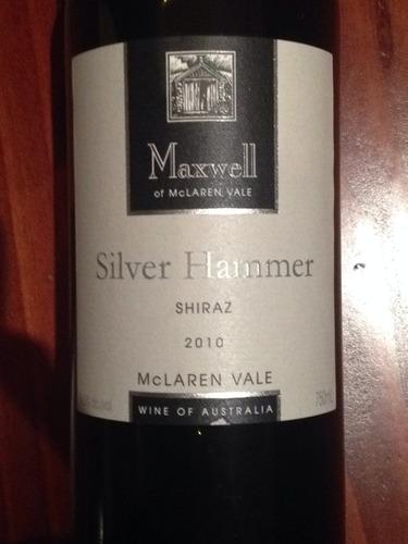 麦克斯韦银锤设拉子干红Maxwell Silver Hammer Shiraz