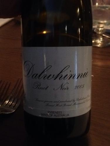 达尔维尼黑皮诺干红Dalwhinnie Pinot Noir