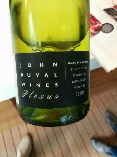 约翰杜瓦尔荟萃玛珊-瑚珊-维欧尼干白John Duval Wines Plexus Marsanne - Roussanne - Viognier