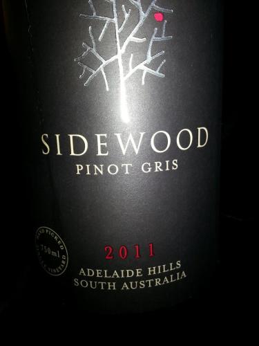 赛德灰皮诺干白Sidewood Estate Pinot Gris