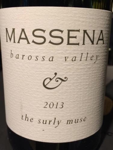 马塞纳忧郁沉思干白Massena The Surly Muse