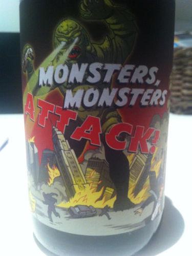新生朋克酒庄怪兽攻击雷司令干白Some Young Punks 'Monsters Monsters Attack' Riesling