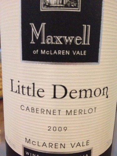 麦克斯韦小精灵干红Maxwell Little Demon Cabernet Merlot