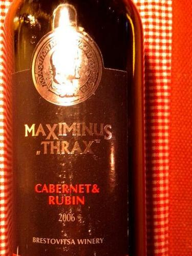Maximinus Thraz Cabernet Rubin
