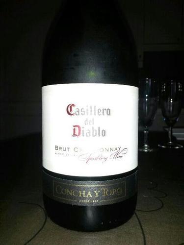 红魔鬼霞多丽起泡Concha y Toro Casillero Del Diablo Brut chardonnay sprking wine