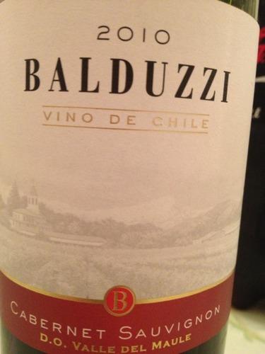 豪华碧桃丝赤霞珠干红Balduzzi Cabernet Sauvignon