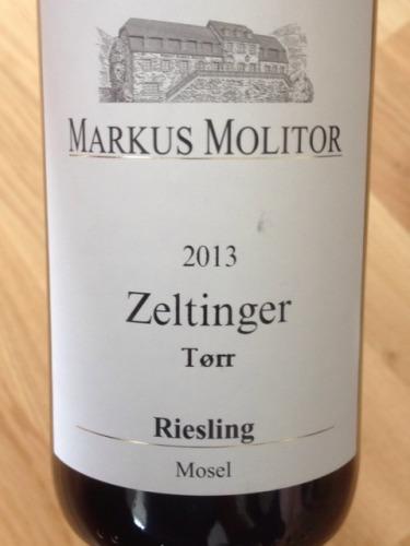 Mosel Torr Zeltinger Riesling