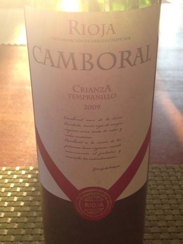 Camboral Crianza Rioja Tempranillo