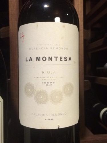 帕拉西奥斯蒙特萨干红Herencia Remondo La Montesa Rioja