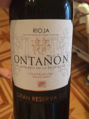 望隆特级陈酿干红Ontanon Gran Reserva