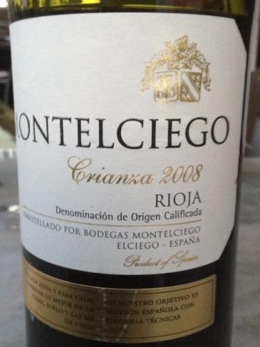 Montelciego Rioja Crianza