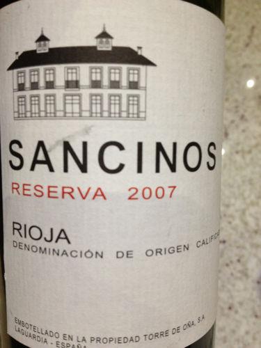 Sancinos Reserva Rioja