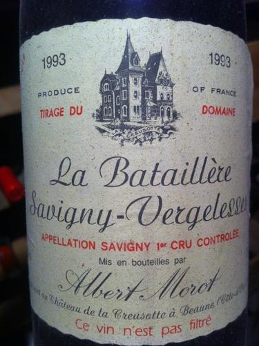 蒙露酒庄莎薇尼红葡萄酒 Albert Morot Blles Savigny 1er Cru