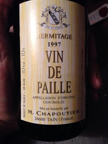 莎普蒂尔麦秆甜白M. Chapoutier Ermitage Vin de Paille