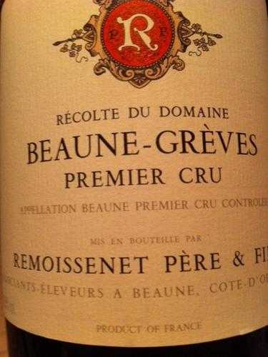 雷穆父子格雷夫园干红Remoissenet Pere & Fils Beaune-Greves Premier Cru