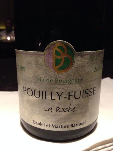 丹玛巴若普伊富溪大石园干白葡萄酒Daniel & Martine Barraud La Roche Pouilly Fuisse
