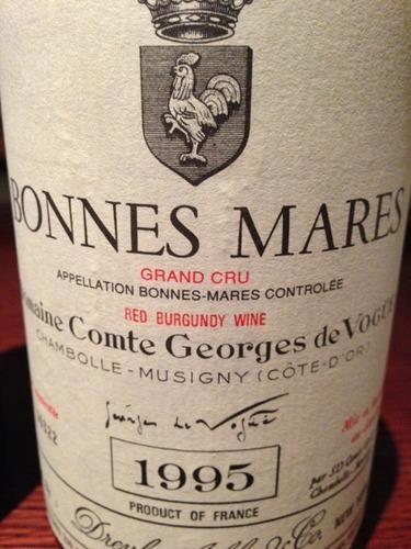 Domaine Comte Georges de Vogue Bonnes-Mares Grand Cru