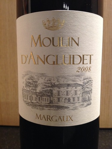 安格鲁邸酒庄副牌干红Moulin d'Angludet