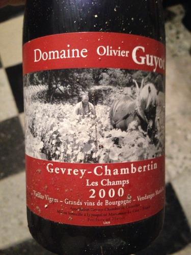 Bourgogne Cuvée Clos Des Vignes Pinot Noir