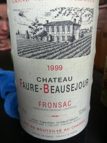 福尔宝赛珠堡干红Chateau Faure Beausejour