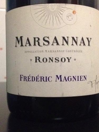 Marsannay Au Ronsoy