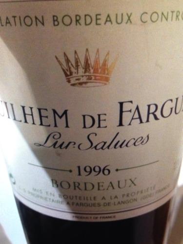Lur Saluces Bordeaux