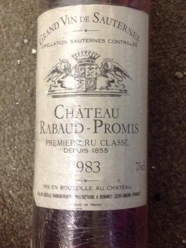Premier Grand Cru Classe Sauternes