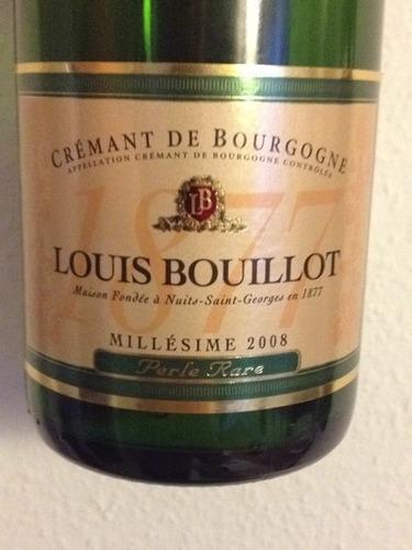 Perle Rare Crémant De Bourgogne Millésimé