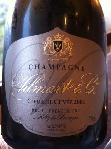 Champagne Coeur de Cuvée Premier Cru
