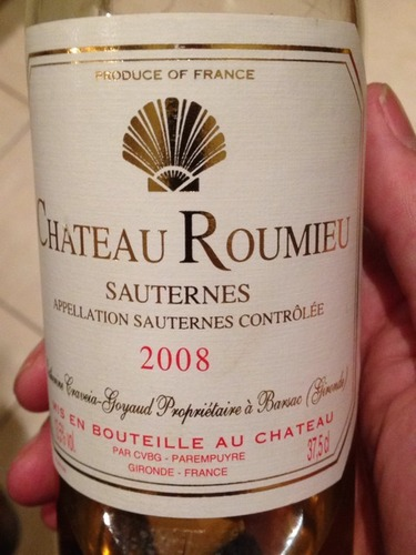 罗密欧庄园贵腐甜白Chateau Roumieu