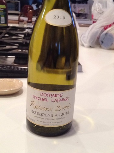 Raisins Dorés Bourgogne Aligoté