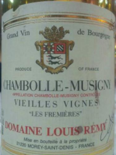 Chambolle-Musigny Vieilles Vigne Les Fremières