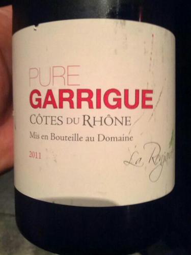 Pure Garrigue Côtes Du Rhône