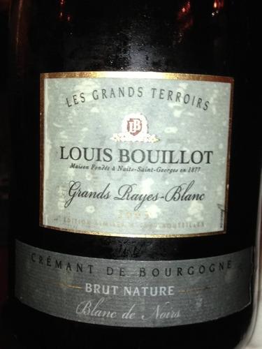 Crémant de Bourgogne Grand Rayes-Blanc Les Grands Terroirs Brut Nature Blanc de Noirs