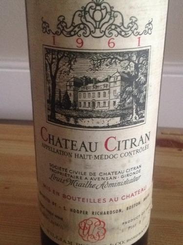 西特兰酒庄干红Chateau Citran Haut Medoc