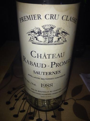 哈宝普诺酒庄贵腐甜白Chateau Rabaud-Promis