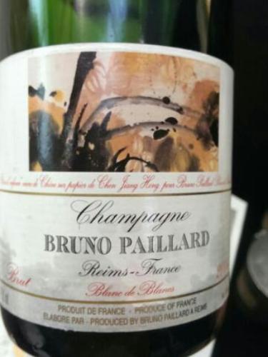 布鲁诺白中白干型香槟Bruno Paillard Blanc de Blancs Brut