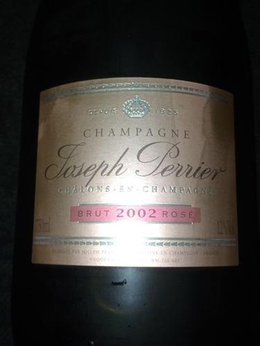 佩里耶酒庄桃红干型香槟Joseph Perrier Brut Rose