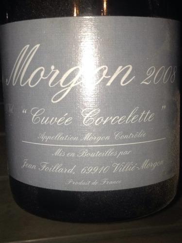 Domaine Jean Foillard Morgon Cuvee Corcelette