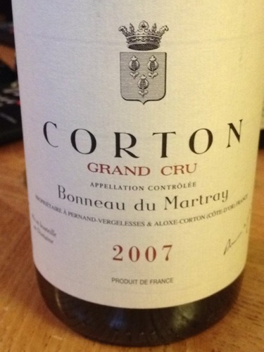 Du Martray Corton Grand Cru