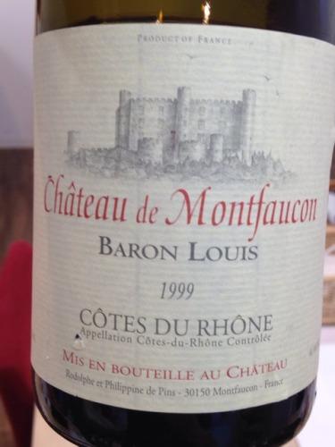 孟特法贡城堡路易斯干红Chateau de Montfaucon Baron Louis Cotes du Rhône